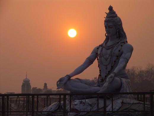 Shiva In Samadhi
