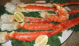 These Jumbo King Crab Legs are rated supreme and the flesh has a flavor that is so wonderful. Once you eat King Crab Legs once you'll want them again and again.