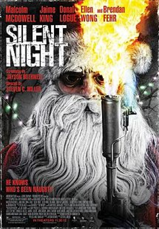 Promotional poster for Silent Night (2012)