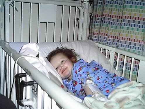 Child, Age 3,  Post-Fontan Surgery