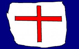 The cross of Saint George.