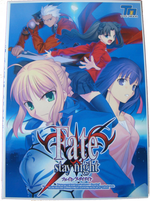 Fate/Stay Night - one of the most acclaimed visual novels of all time.