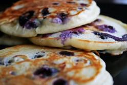 Protein & Blueberry Pancakes