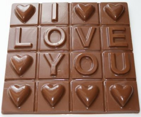 valentines day chocolate. idea for Valentine#39;s Day
