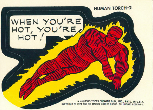 The Human Torch and I would hang out in famous clubs across America partying with college kids and celebrities.