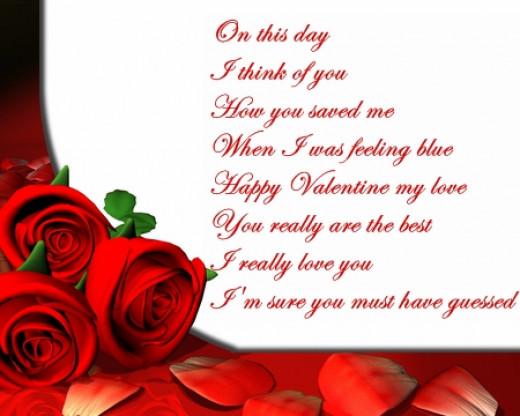 Valentines Day Poems 2015 Image Free Online