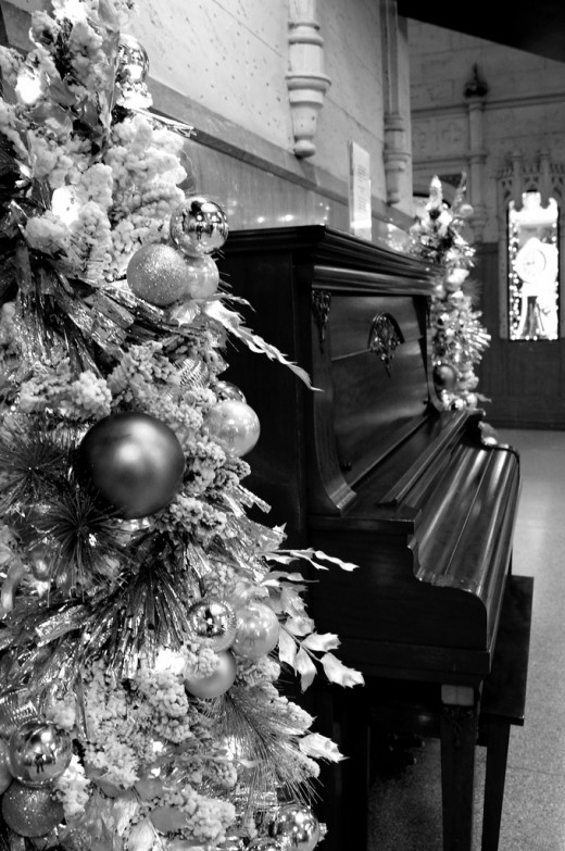 Christmas and a Piano