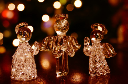 Christmas Glass Angels