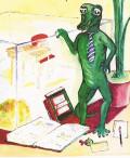 Mr. Smarty, the Alligator Plays Baseball