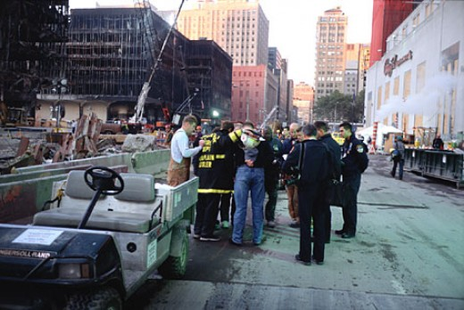 Image from US State Department: World Trade Center 9/11: Prayer Meeting is a form of healing, spiritually and mentally