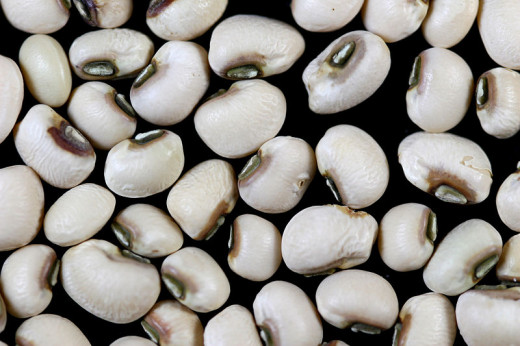 Black eyed peas is a popular New Year's Eve food.