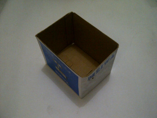 The original box before make over.