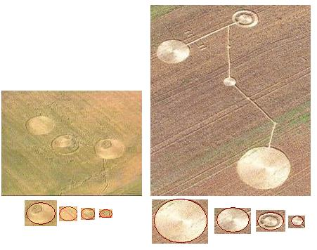 This crop circle shows the alignment of planets when Nibiru Planet X moves 30 million miles closer to our Sun.