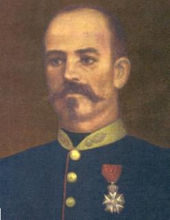 Captain Jean Danjou (1828 - 1863).