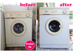 DIY Resprayed Washing Machine