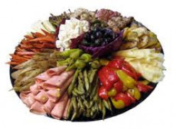 The Cook in Me:  A Smorgasbord of Realities and Dreams!© Antipasti Platter with Cheese Straws