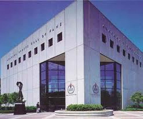 Alabama Sports Hall of Fame and Museum is located in Birmingham, Alabama. It celebrates great athletes from the state of Alabama and their enormous accomplishments.