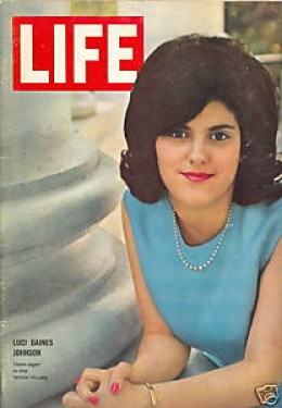Luci Johnson on cover of Life magazine May, 1964