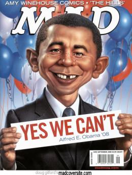 Alfred as Barack Obama