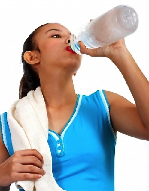 Dehydration can cause temporary hypercalcemia.