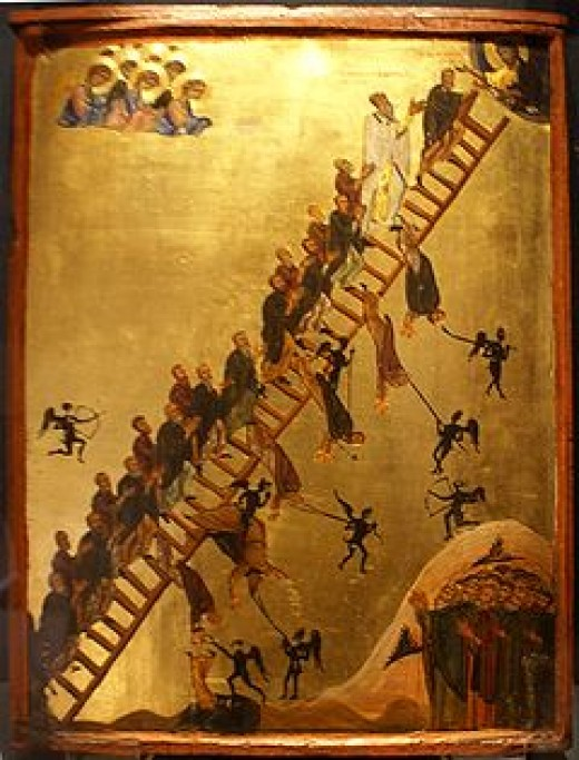 The Ladder of Divine Ascent  Saint Catherine's Monastery, Mount Sinai