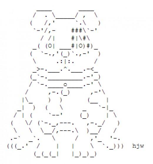 One Line Ascii Art Dog : Dog ascii art related keywords long tail