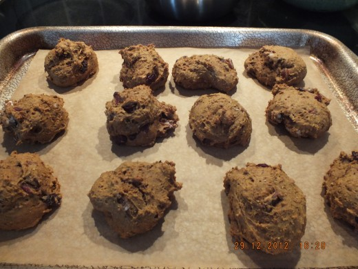 After baking. Everyone loves before and after photos! You are going to love these healthy treats!