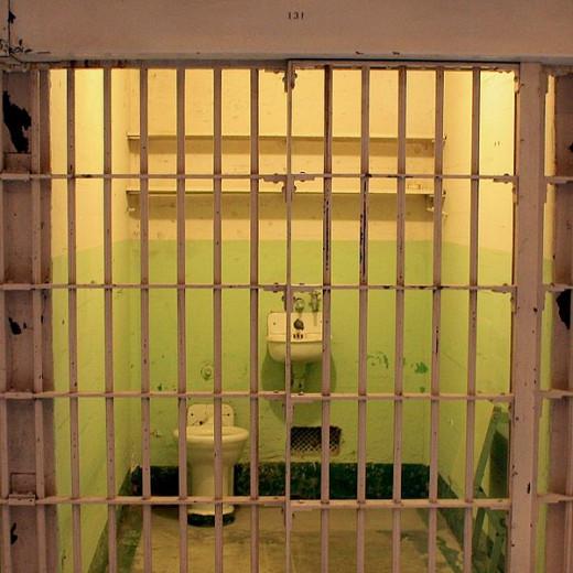 Alcatraz Island - prison cell