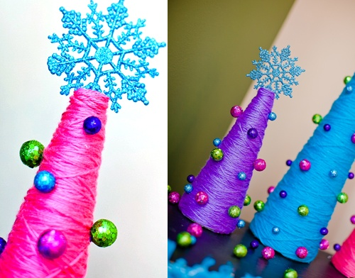 Check out the Christmas Craft Home Décor Hub for these beauties