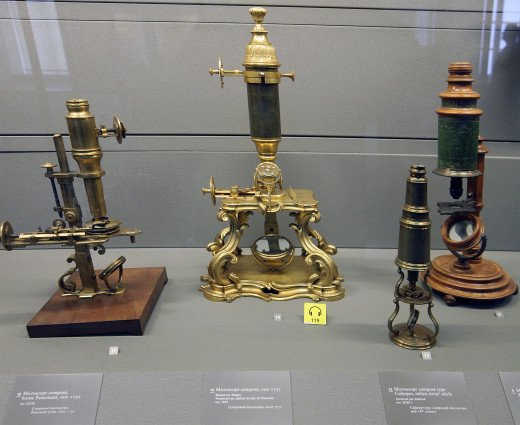 18th Century Microscopes