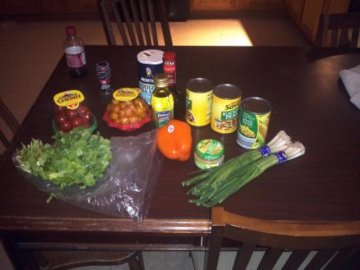 Ingredients for Prosperity Caviar