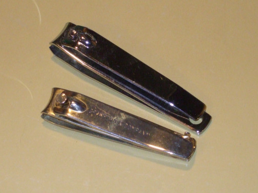 Observe that nail clippers are available in varying sizes.