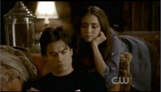 Damon and Katherine of The Vampire Diaries are currently my favorite couple, but does that really make me a shipper?