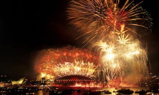 Sydney NYE fireworks get better every year