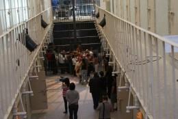 Micro theater in Segovia prison cells