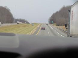 Roadways through the Smoky Mountain areas on the way to New Orleans.