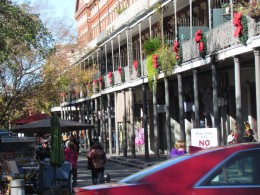 Locations down in the French Quarters.