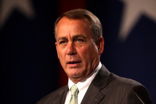 House Speaker John Boehner (R-OH)