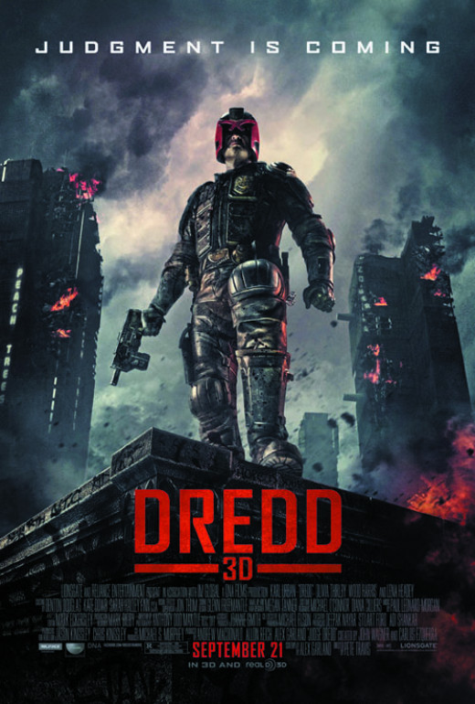 Theatrical poster for Dredd (2012)