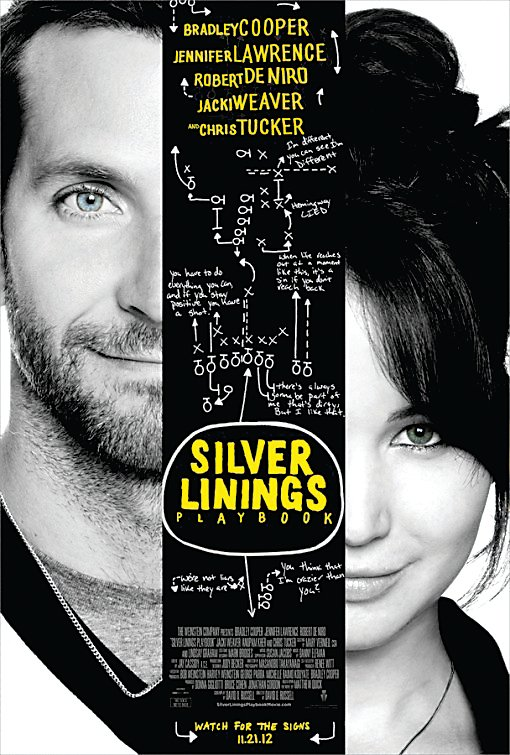 Theatrical poster for Silver Linings Playbook (2012)