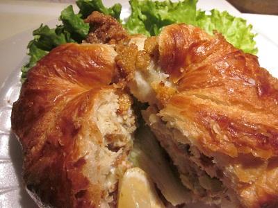 Fish Fancy Sandwich