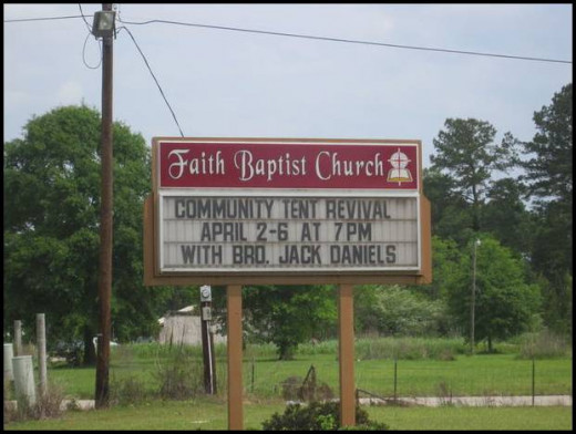 Want to witness a miracle? Attend Brother Jack's revival!  Don't take my word for it, just look further down...