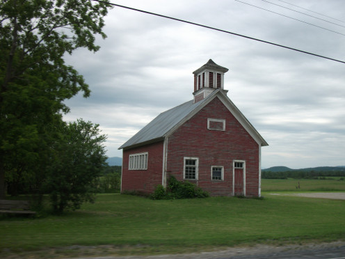 Old schoolhouse in Vermont