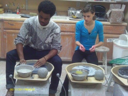 Private Pottery lessons can enhance a natural talent.
