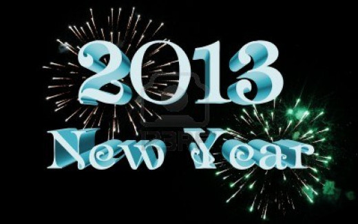 The new year 2013