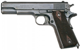 This venerable pistol would still be legal under Larry's Second Proposal.