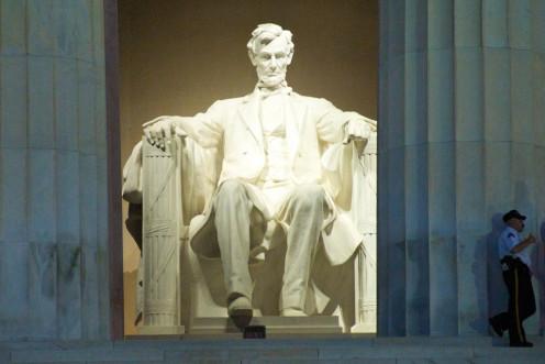 Lincoln Memorial, Dedicated in 1922.