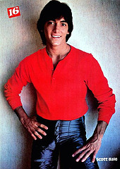 Cute and Young Scott Baio in Leather Pants