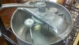 A vintage Hand Crank Mixer