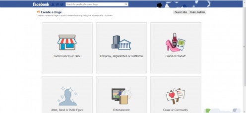 Creating a Page on Facebook